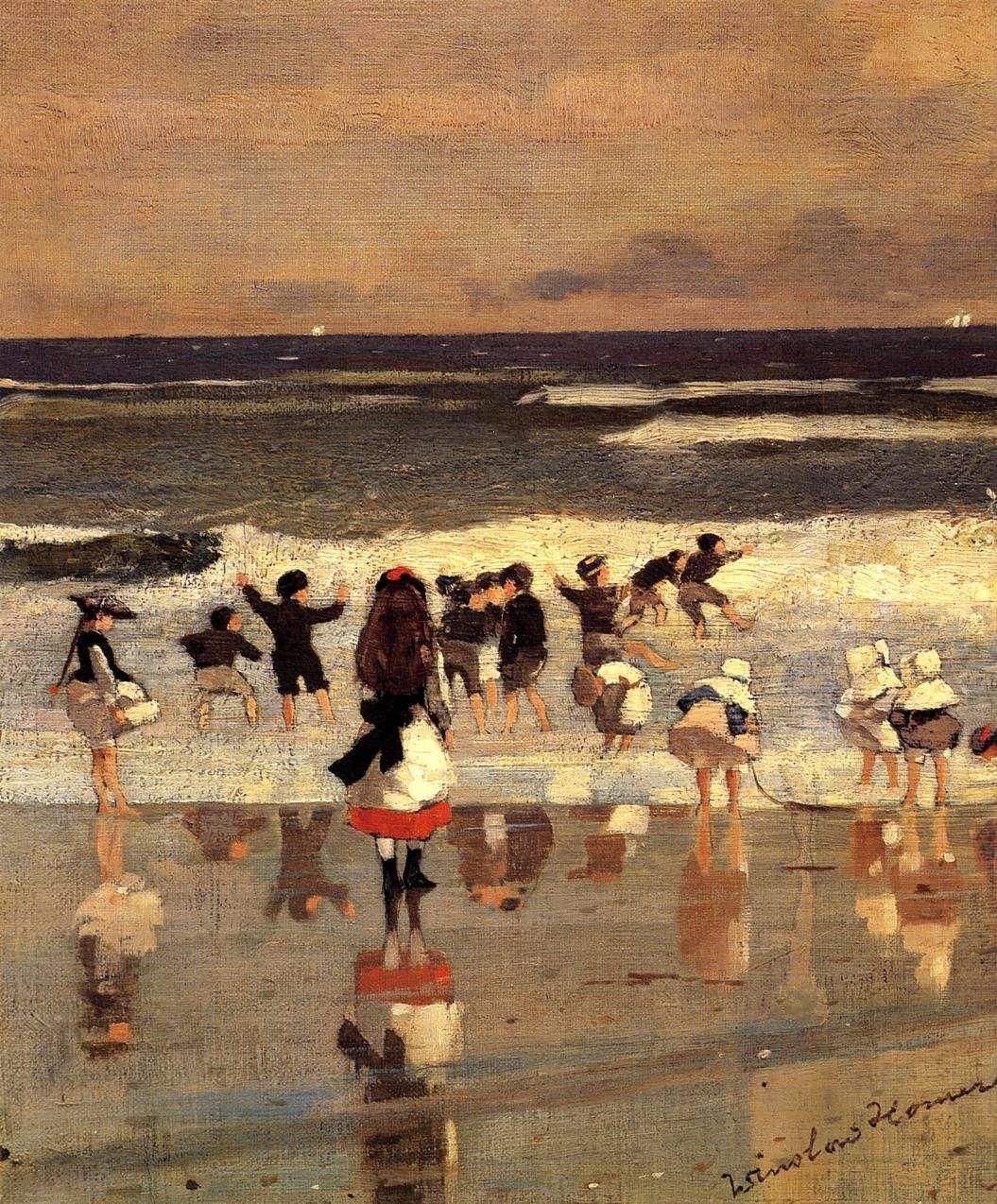 WinslowHomer-BeachSceneakaChildrenintheSurf