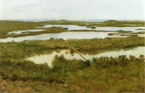 bierstadt-ARiverEstuary