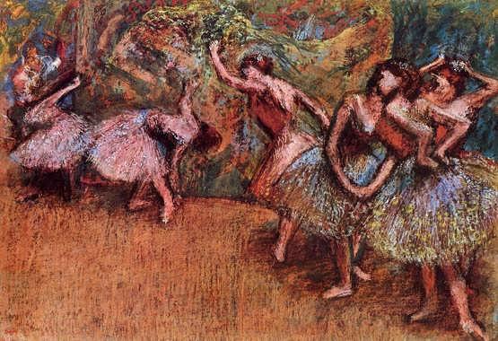 degas-BalletSceneII