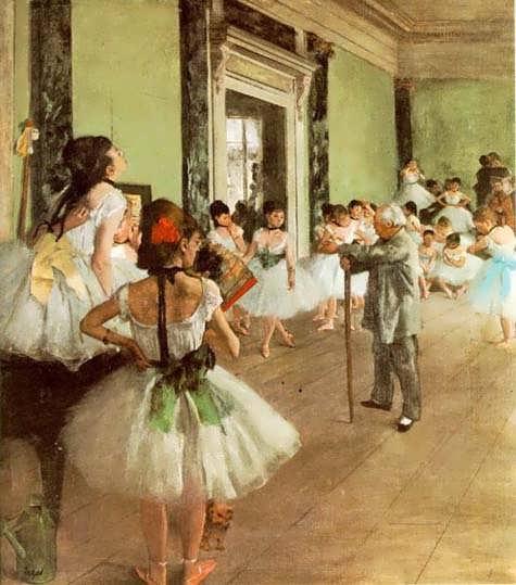 degas-dancingclass