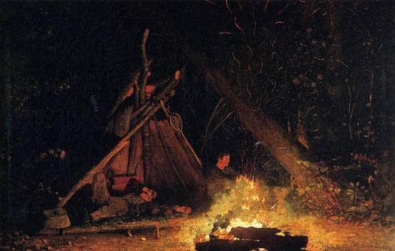 homer-CampFire