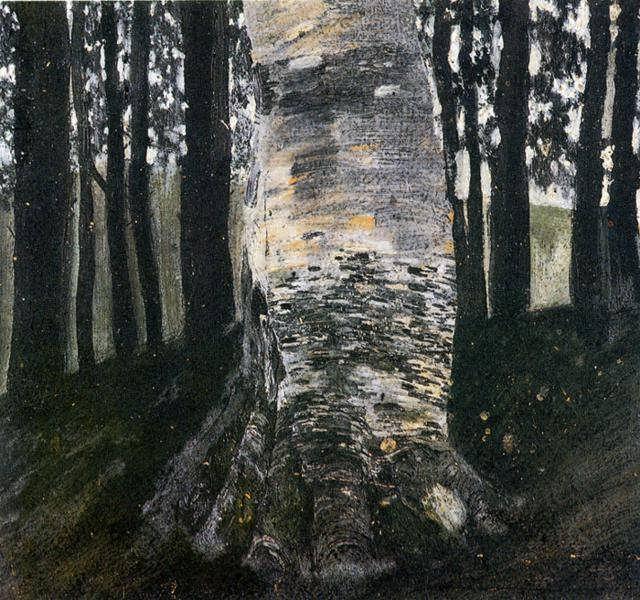 klimt-BirchinaForest